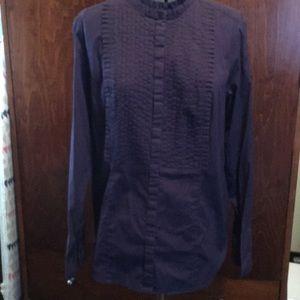 Tops - Beautiful deep purple Tunic XXL, Cotton/Spandex